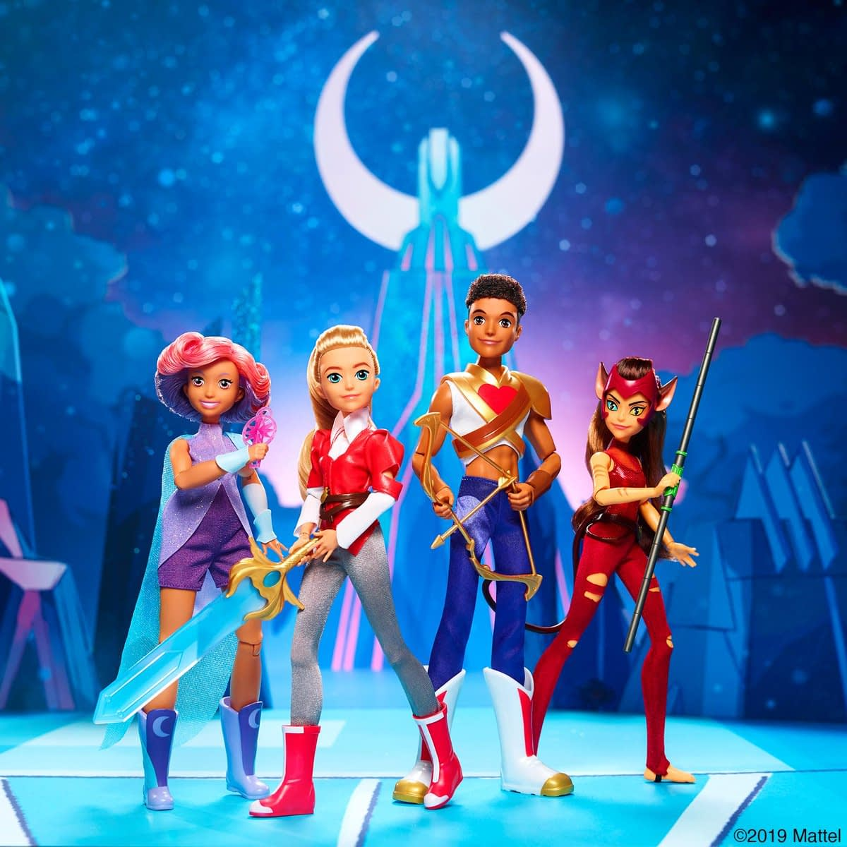"""She-Ra and the Princesses of Power"" - Mattel Makes Your New Toy BFFs"