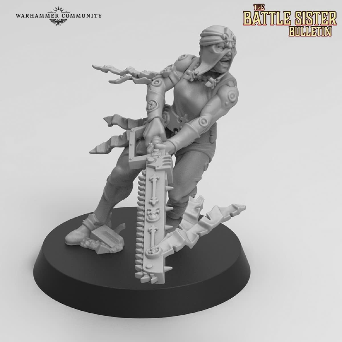 "Games Workshop Shares Awesome New Sisters Repentia for ""Warhammer 40K"""