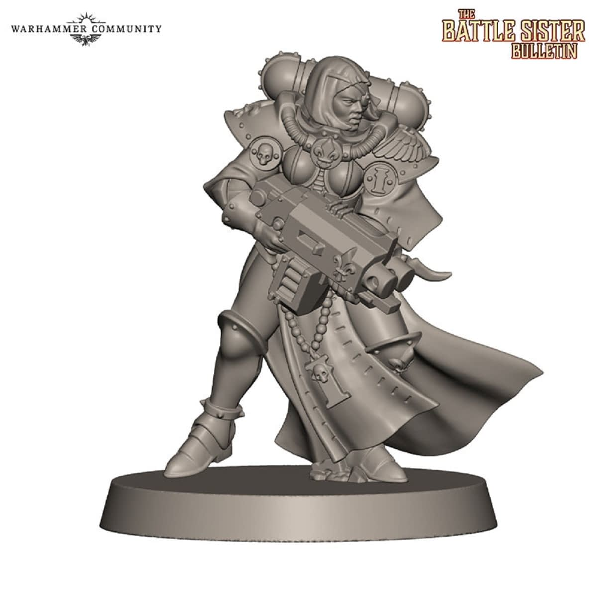 Games Workshop Shows Off New Sisters of Battle for 40k