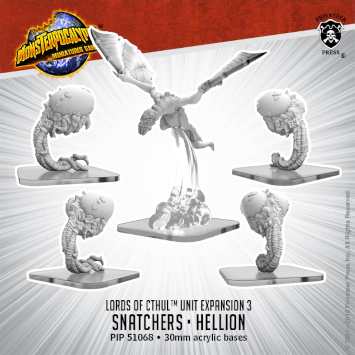 """New """"Monsterpocalypse"""" releases: Ulgoth, Apes, and Robots, Oh My!"""