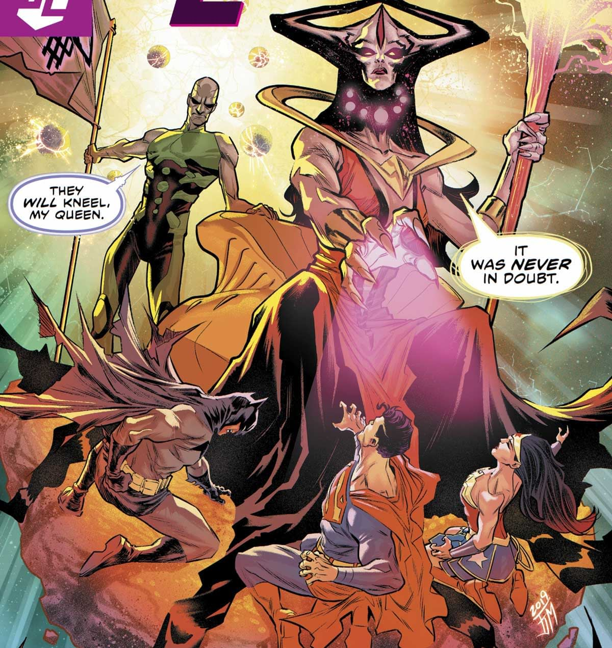 REVIEW: Justice League< #37