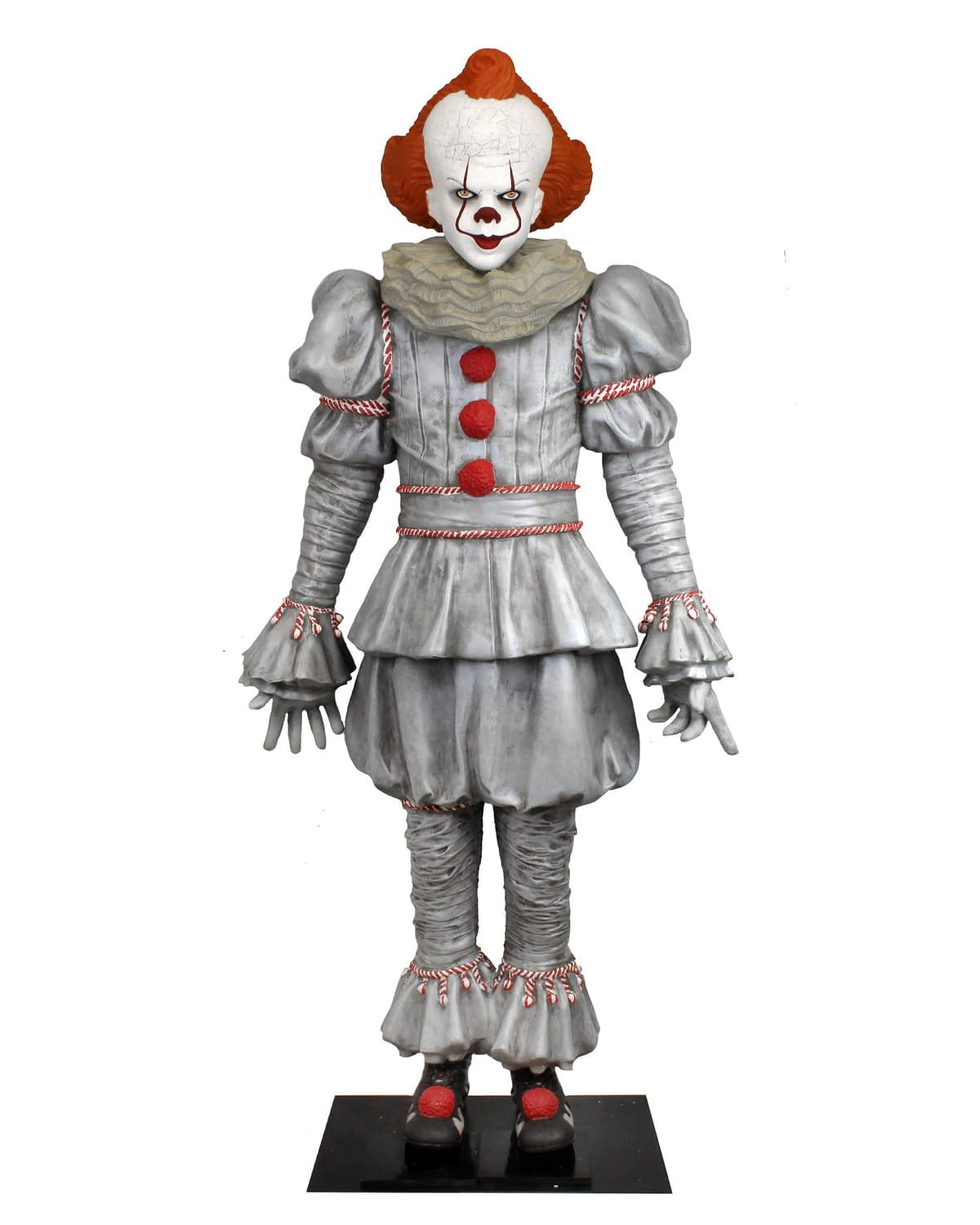 Bring home the life-size murder clown Pennywise by NECA