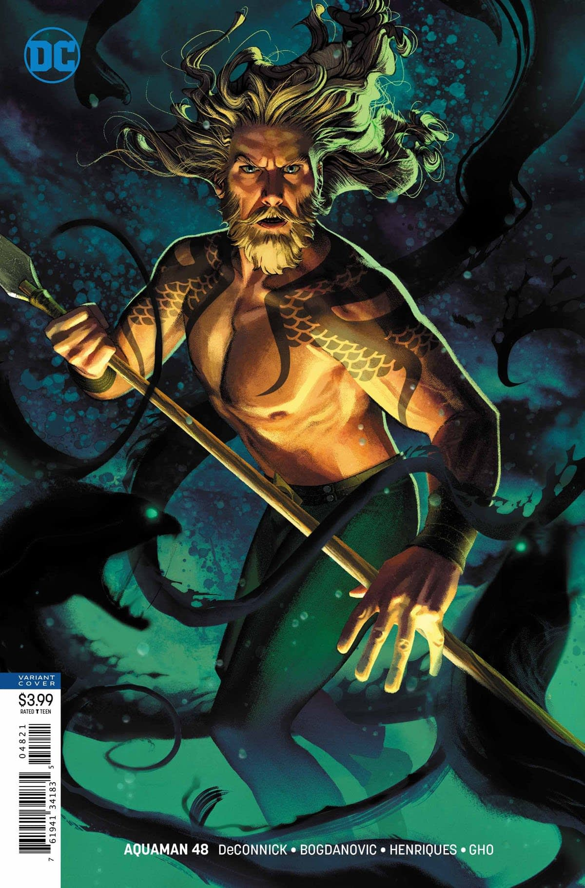 Aquaman Gets Zooted in Tomorrow's Aquaman #48 (Preview)