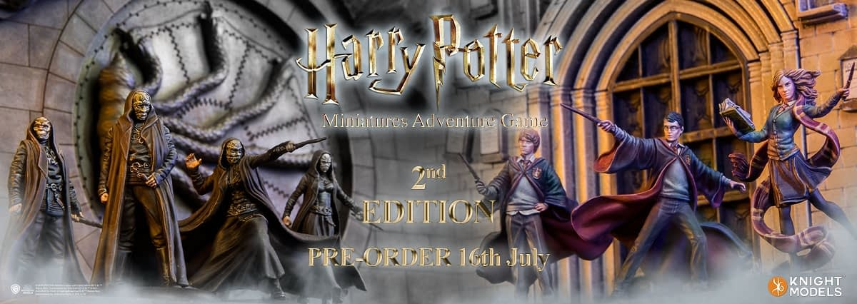 "Knight Models Announces 2nd Edition of ""Harry Potter"" Miniatures Game"