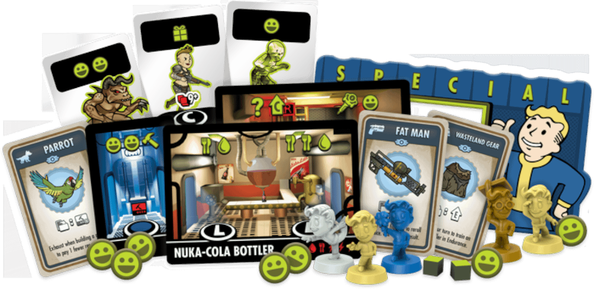 """Fallout Shelter"" Board Game Coming Soon from Fantasy Flight Games"