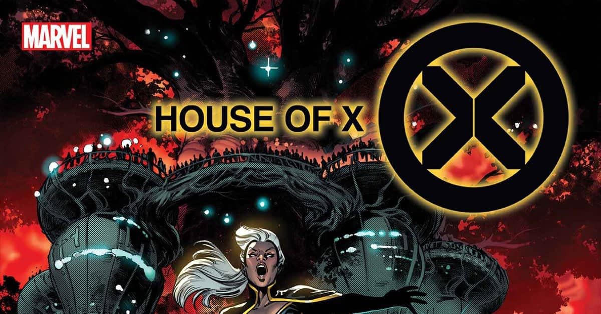 MARVEL COMICS   10//2  FREE SHIPPING READ DETAILS HOUSE OF X #6 OF 6