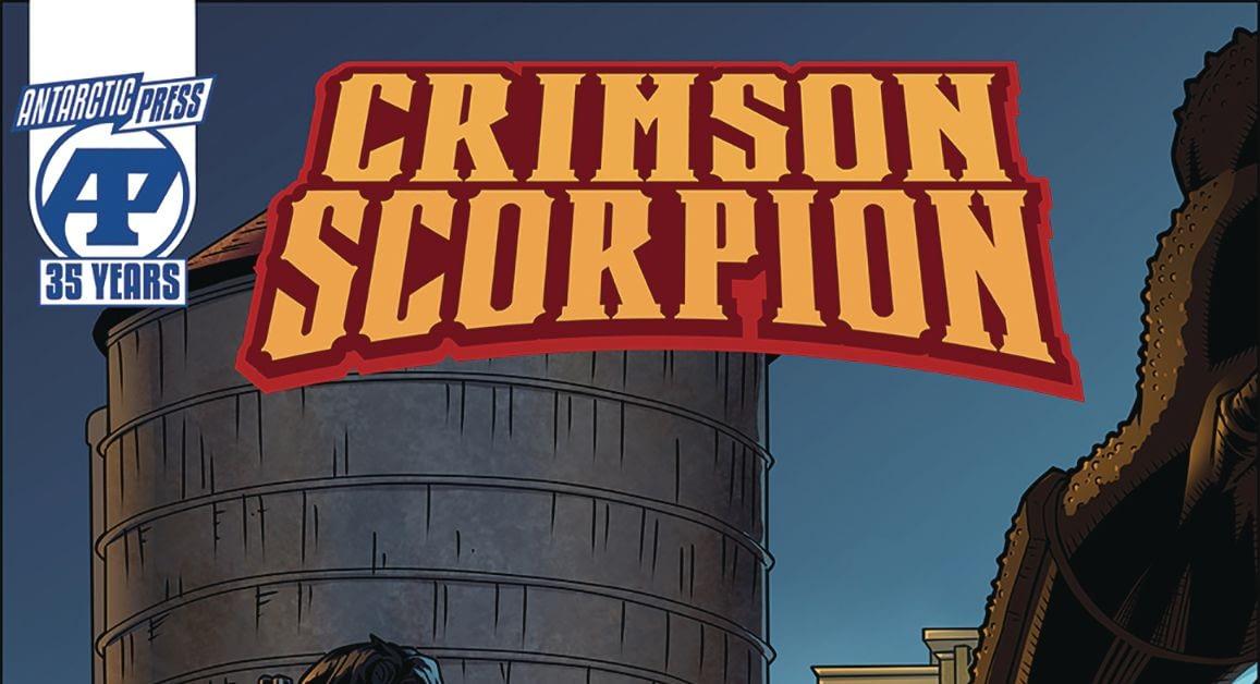 David Furr and Joseph Olesco Launch Crimson Scorpion #1 in Antarctic Press February 2020 Solicitations