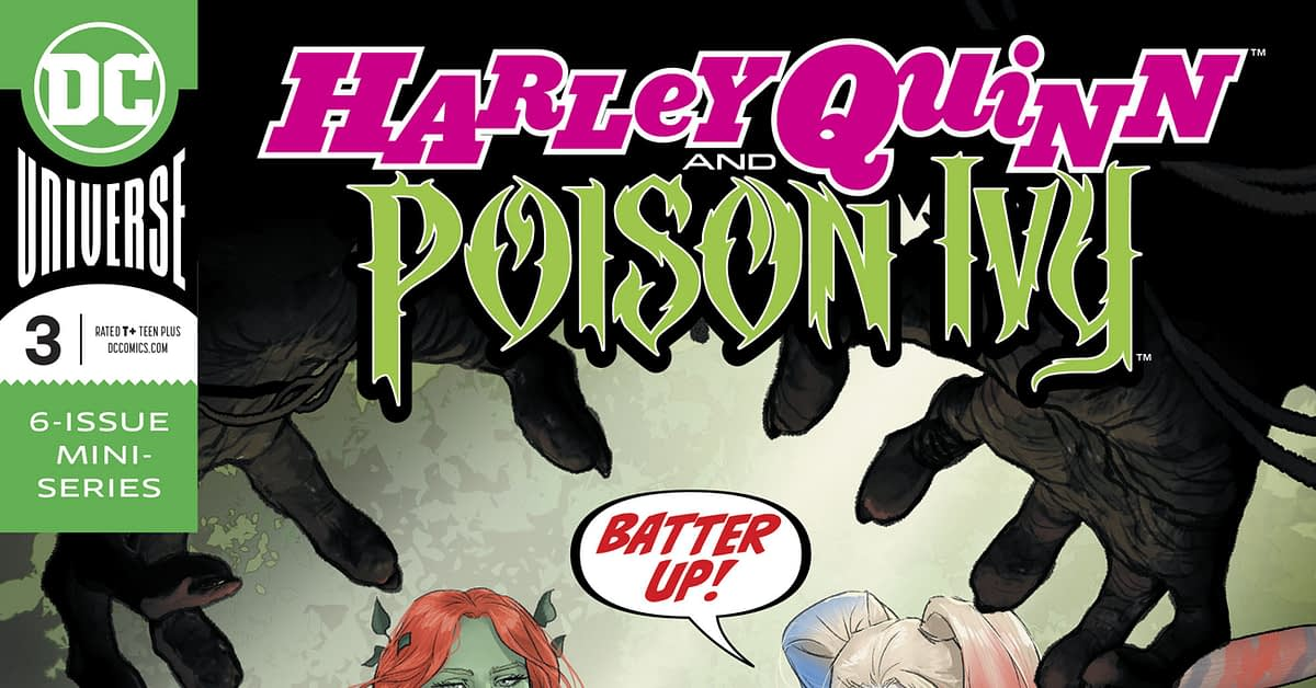 Split-Price Combined Chart Sees Harley Quinn/Poison Ivy Beat Immortal Hulk, for November 2019 Orders