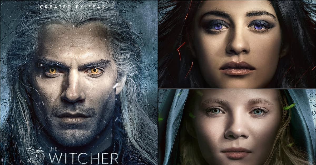 """""""The Witcher"""" Releases 3 New Character Posters; Showrunner Lauren S. Hissrich Reveals """"Completely Different"""" First Pitch [VIDEO]"""