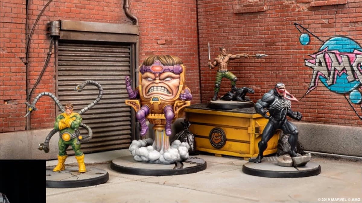 "Fantasy Flight Games Announces ""Marvel Crisis Protocol"" Miniatures For Fall 2019"