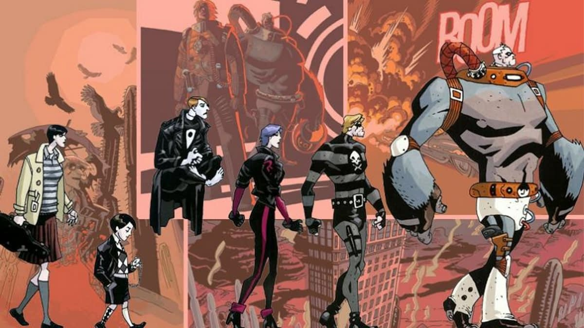 Umbrella Academy to Get a Christmas Special One-Shot from Gerard Way and Gabriel Bá