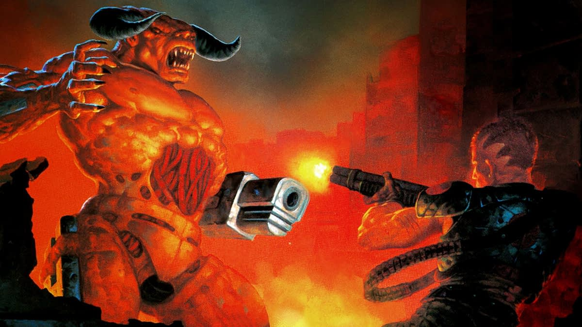 Image result for Bethesda's Hellish Add-On Update For DOOM And DOOM II Is Now Available