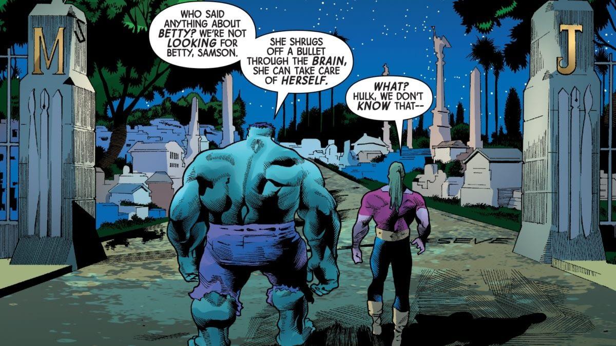 Immortal Hulk #15 Dives Into Politics In a Big Way - and Marvel Comics Continuity (Spoilers)