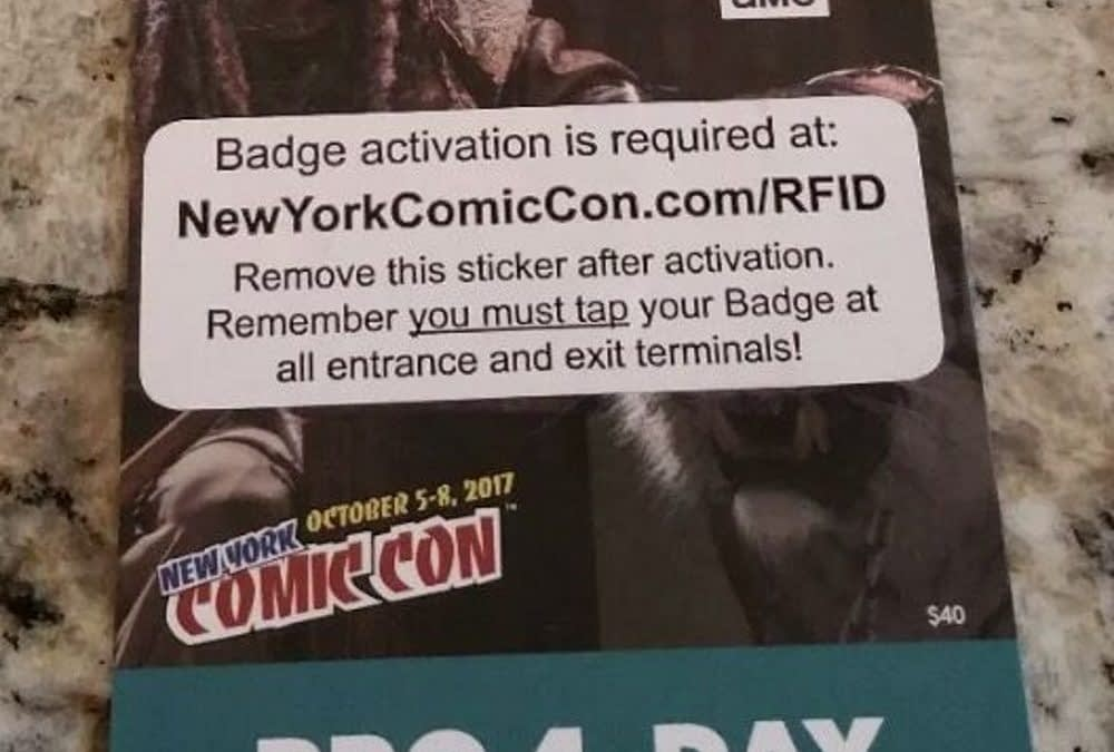Return of the 4-Day Badge For New York Comic Con [NYCC] in 2019