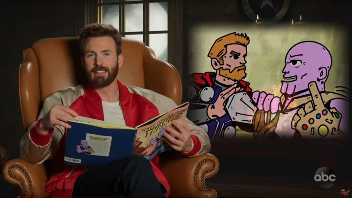 'Avengers: Endgame' Read Children's Book-Version of 'Infinity War', Hilarity Ensues