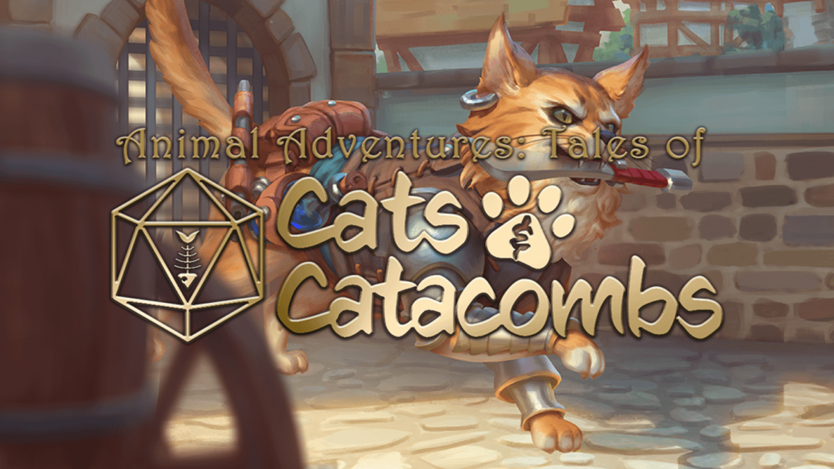 Animal Adventures: Tales of Cats and Catacombs is D&D 5E with Cats