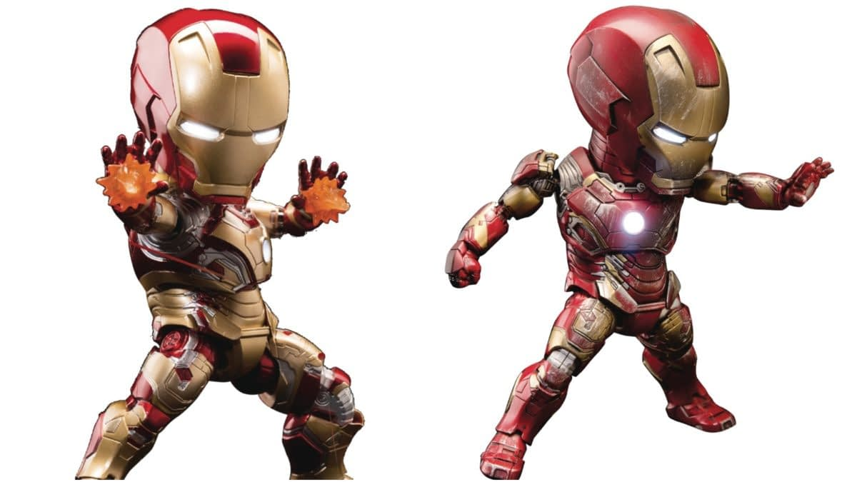 Two Iron Man Egg Attack Figures From Beast Kingdom are Up For Order