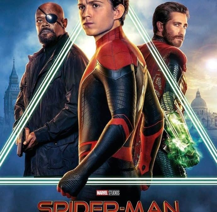 6 Character Posters for 'Spider-Man: Far From Home'