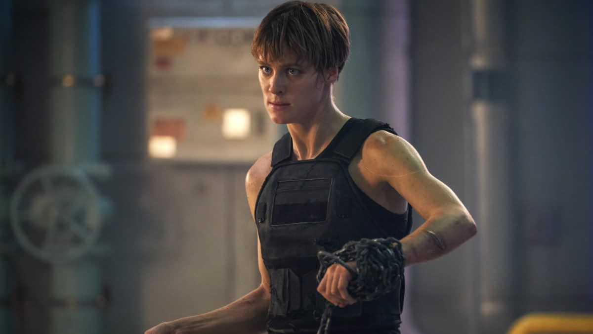 "Mackenzie Davis 'Terminator: Dark Fate' Character Grace is ""Not a Machine"""