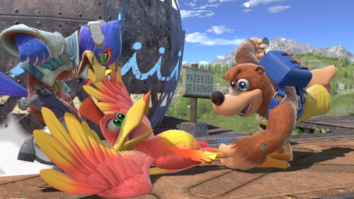 """The """"Smash Bros."""" Design Of Banjo-Kazooie Came From A Specific Artist"""