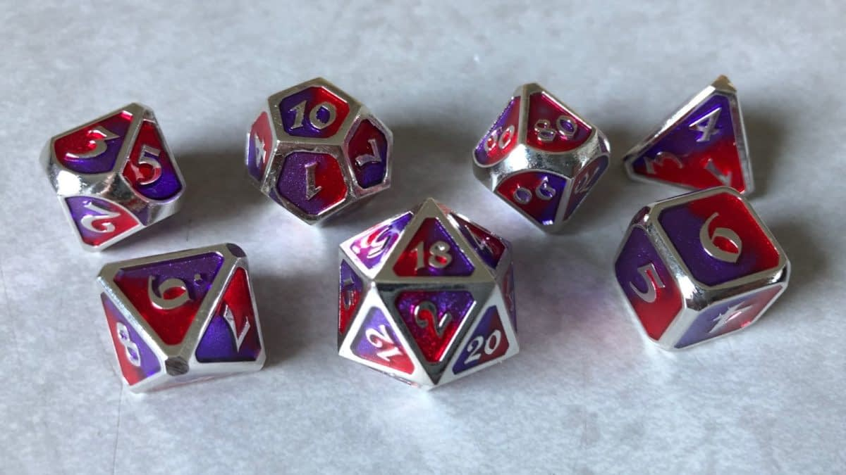 Review: Die Hard Dice - Spellbinder Sovereign Metal Dice