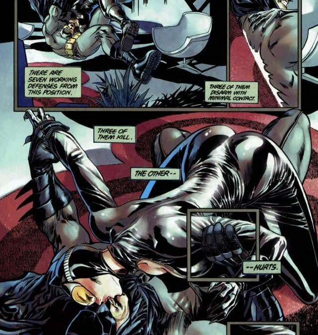 And Finally… Another Take On That Catwoman #1 Scene