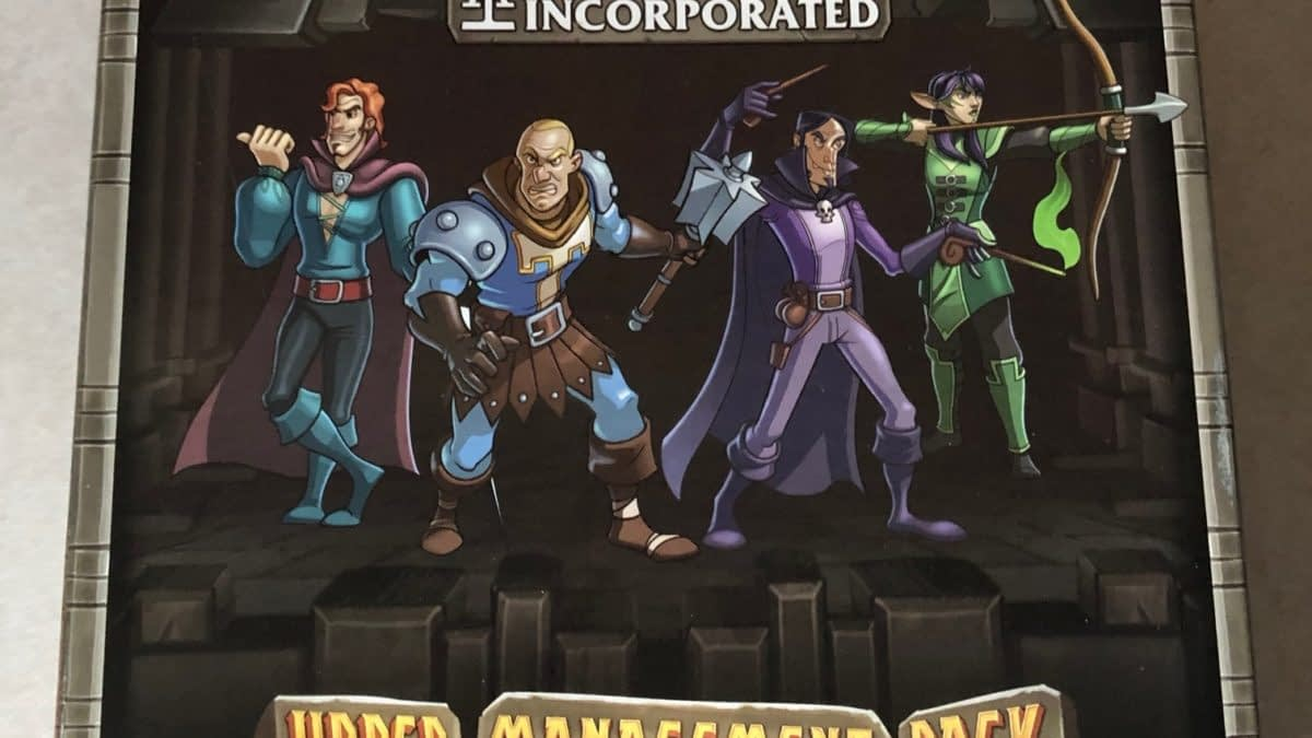 "Review: ""Clank!"" Legacy Acquisitions Incorporated Upper Management Pack"