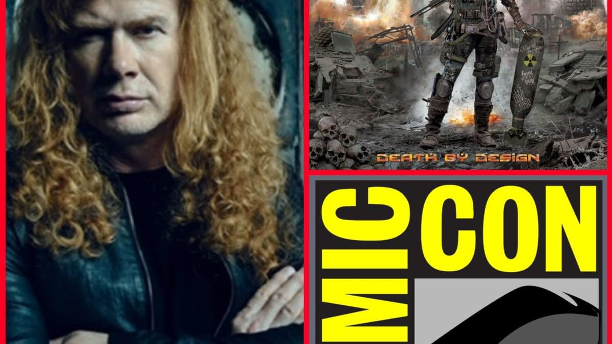 Dave Mustaine Signs Megadeth Graphic Novel at San Diego Comic-Con - And Other Heavy Metal Exclusives and Debuts