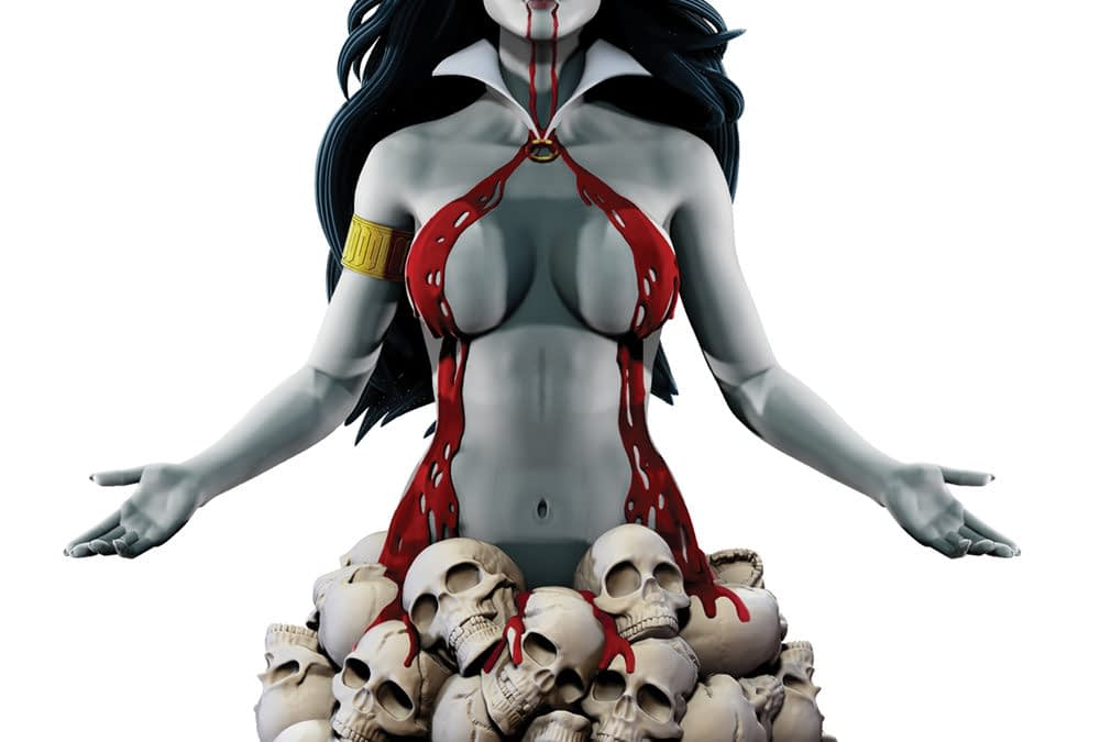 Vampirella Fans Have a New Artgerm Bust and Coins to Collect