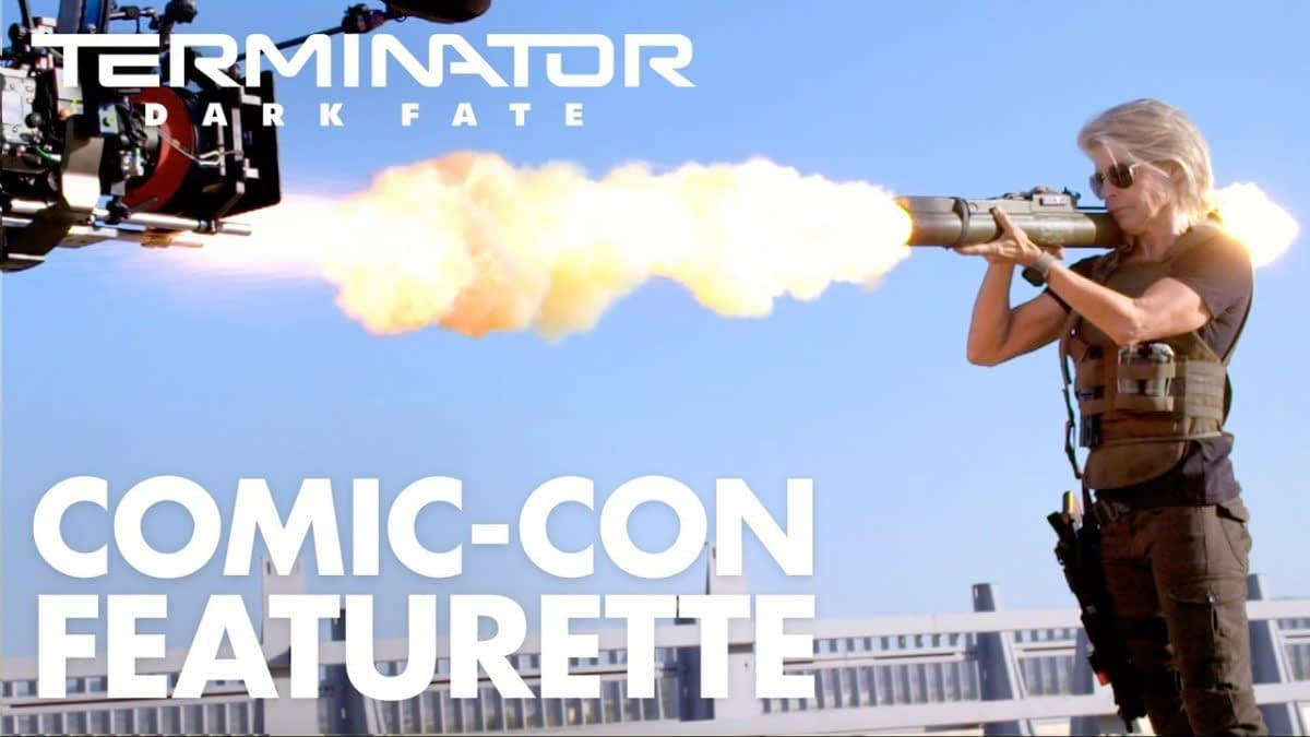 """Check Out the """"Terminator: Dark Fate"""" Featurette from the #SDCC Panel"""