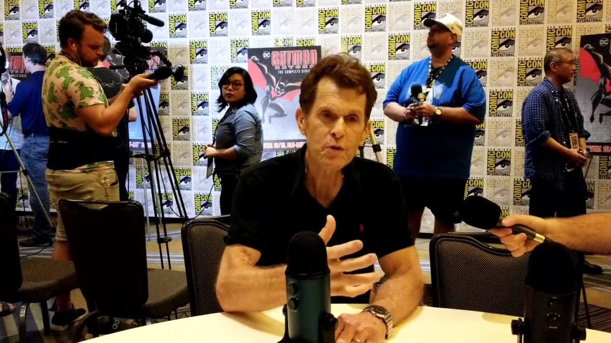 """Batman Beyond"": Kevin Conroy Talks Timeless Dark Knight, Imitates Mark Hamill & More! [INTERVIEW]"
