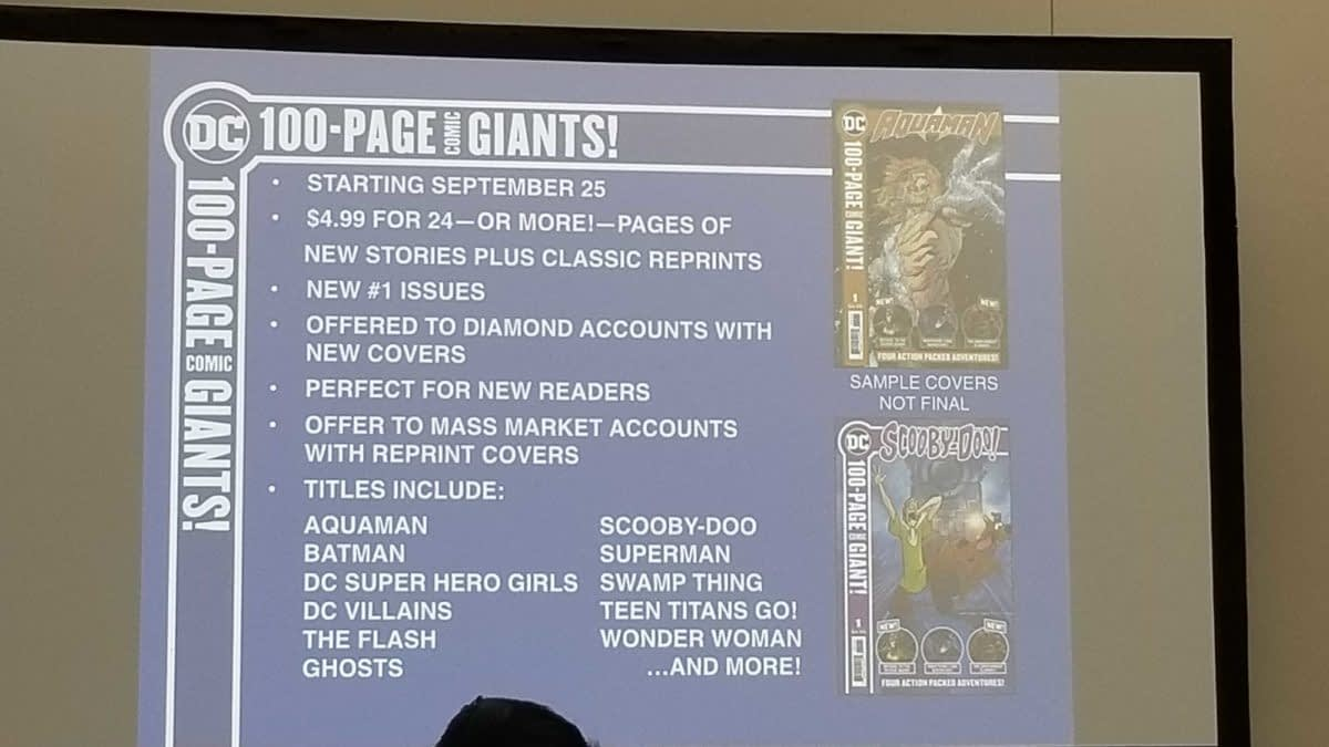 DC Goes All In on Reprints at SDCC Retailer Lunch, Didio Be Damned