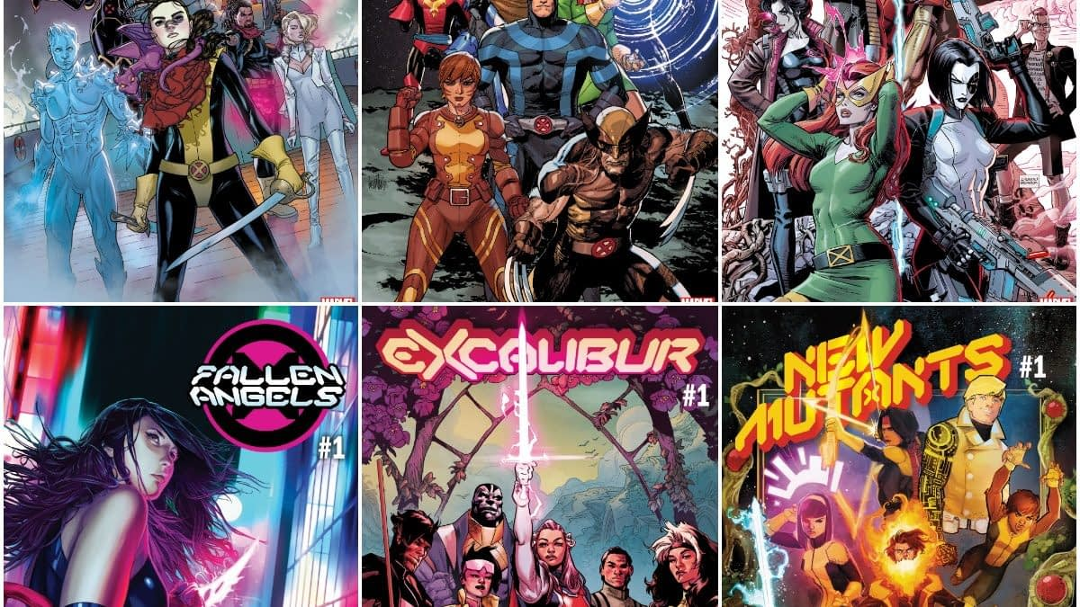 Marvel's October and November 2019 Solicits For Jonathan Hickman's #DawnOfX