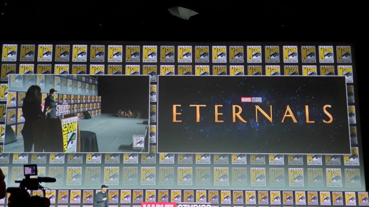 """""""Full Jack Kirby"""" Eternals Official for November 2020 from Marvel Studios"""