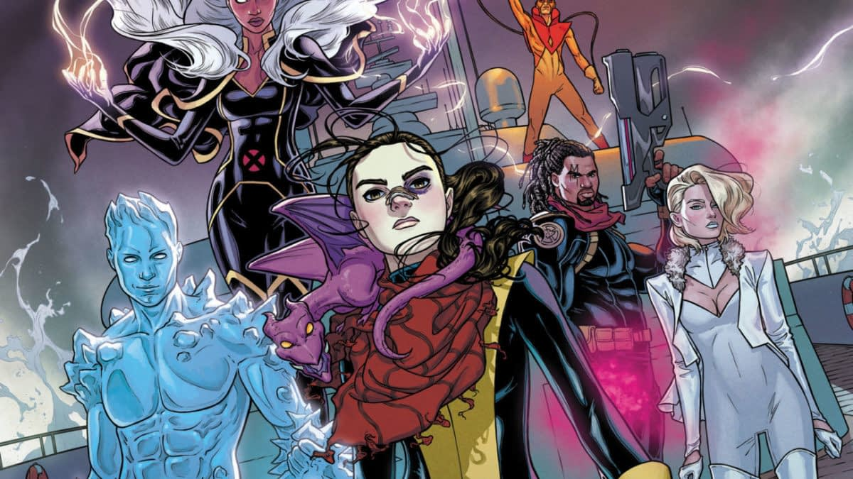 Marvel Didn't Support Sina Grace on Iceman, But the Line-Up of Marauders Looks a Lot Like It