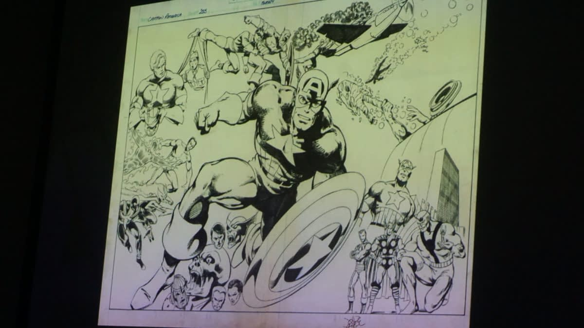 Unpublished John Byrne Captain America, Ed Brubaker and Sean Philips on Darwyn Cooke's Last Call and Steve Ditko's Wishes at IDW San Diego Comic-Con Panel
