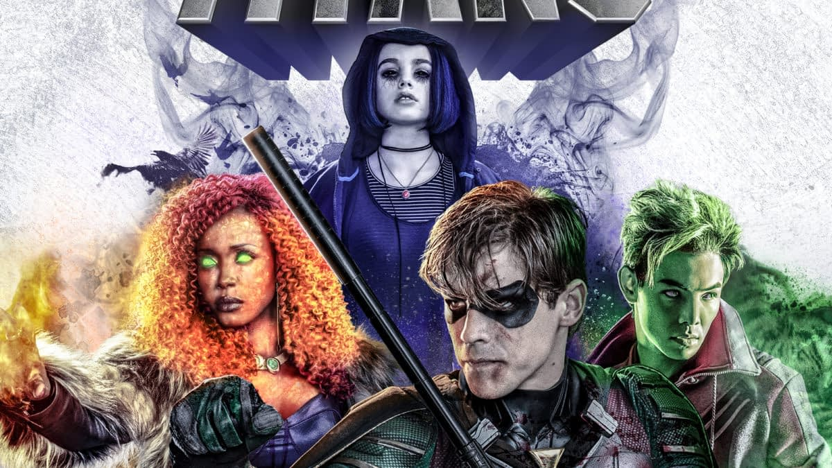 """""""Titans"""" Season 2: Anna Diop, Conor Leslie Begin Long Day's Journey into Night - and Next Morning [VIDEO]"""