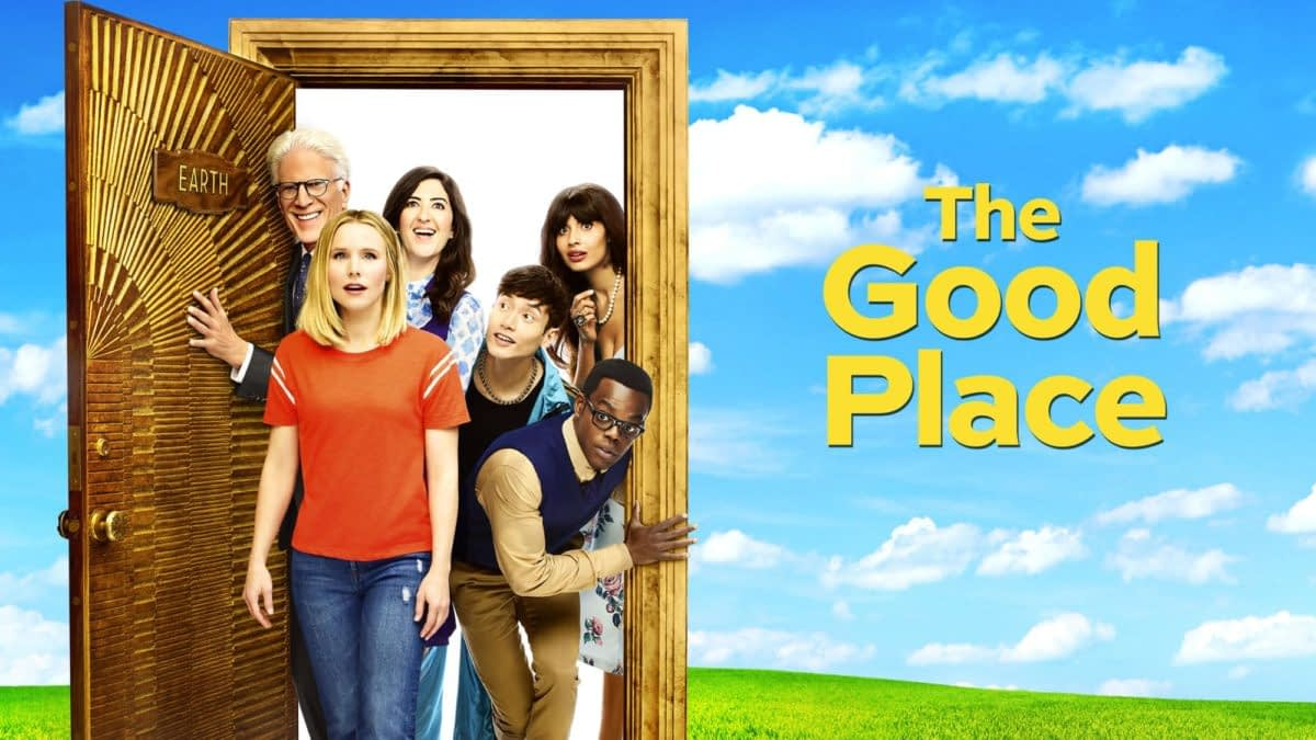 """The Good Place"" Season 4: ""Soul Squad"" Talks Finales, Fart Jokes & Teaching Ethics [INTERVIEW]"