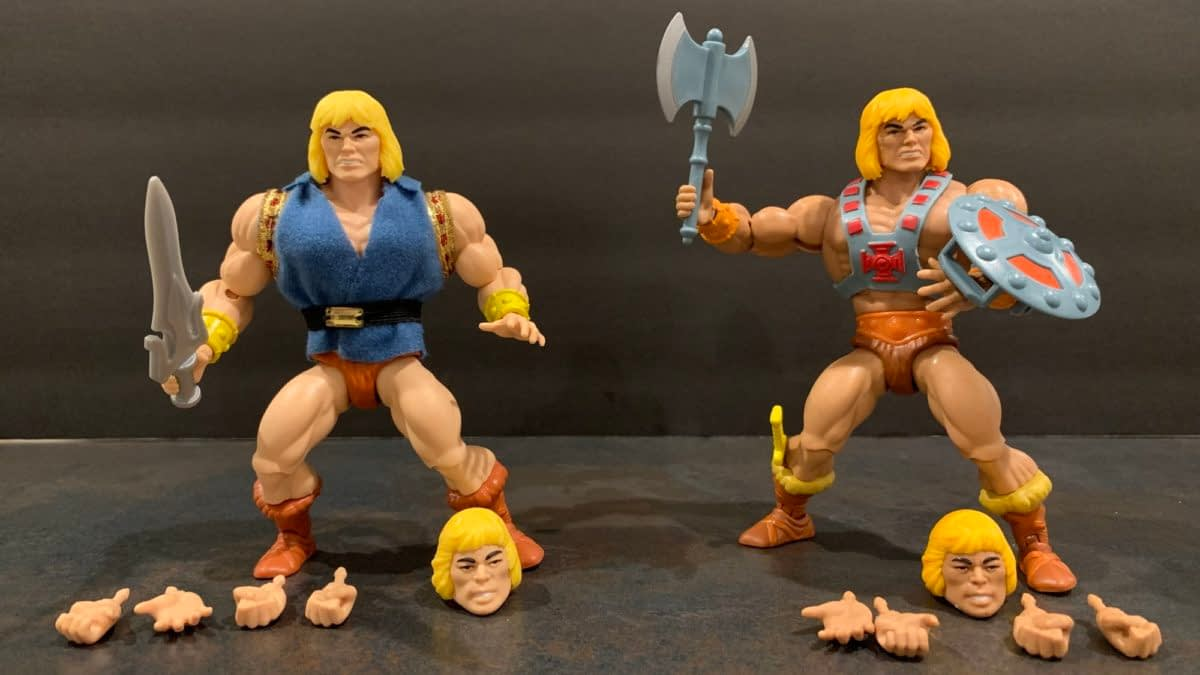 Masters of the Universe: Origins- Let's Look at the SDCC Debut Set