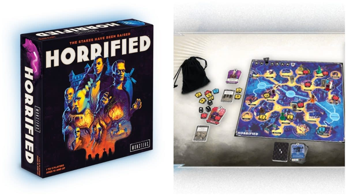 """Universal Monsters Fans: """"Horrified"""" is a Scary Good Table Top Experience"""