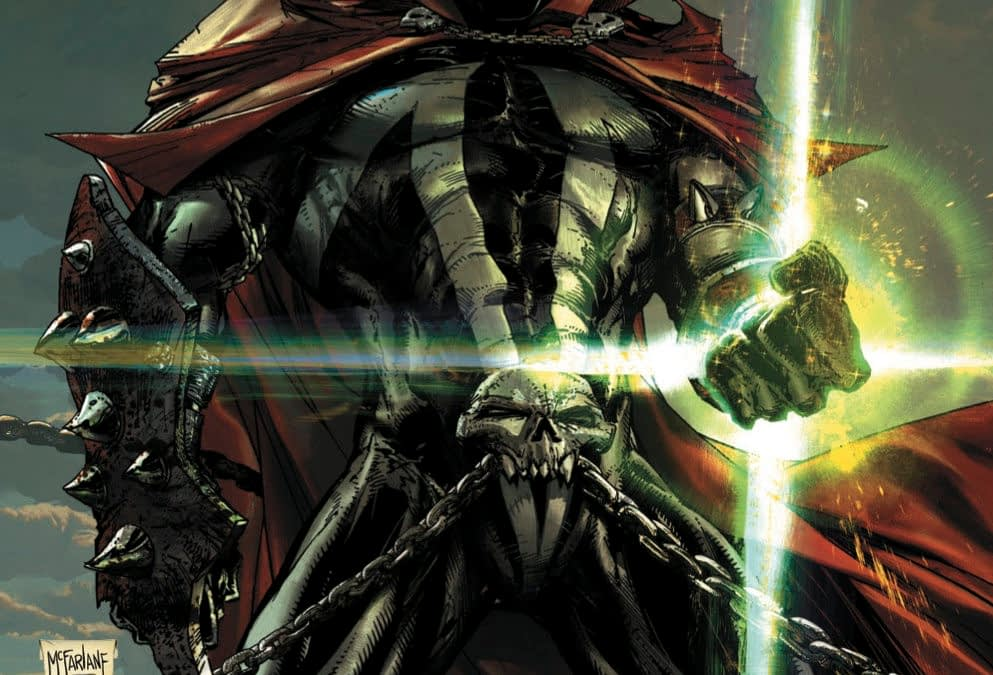 Finally, Todd McFarlane's Own Cover For Spawn #300