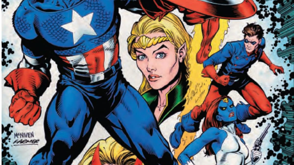Lots of Pre-WW2 Superhero Origins in History of the Marvel Universe #2 [Preview]