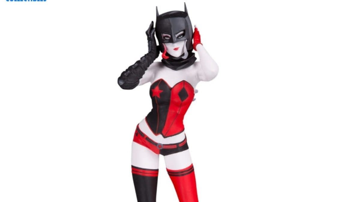 Harley Quinn Beats the Bat With New DC Collectibles Statue