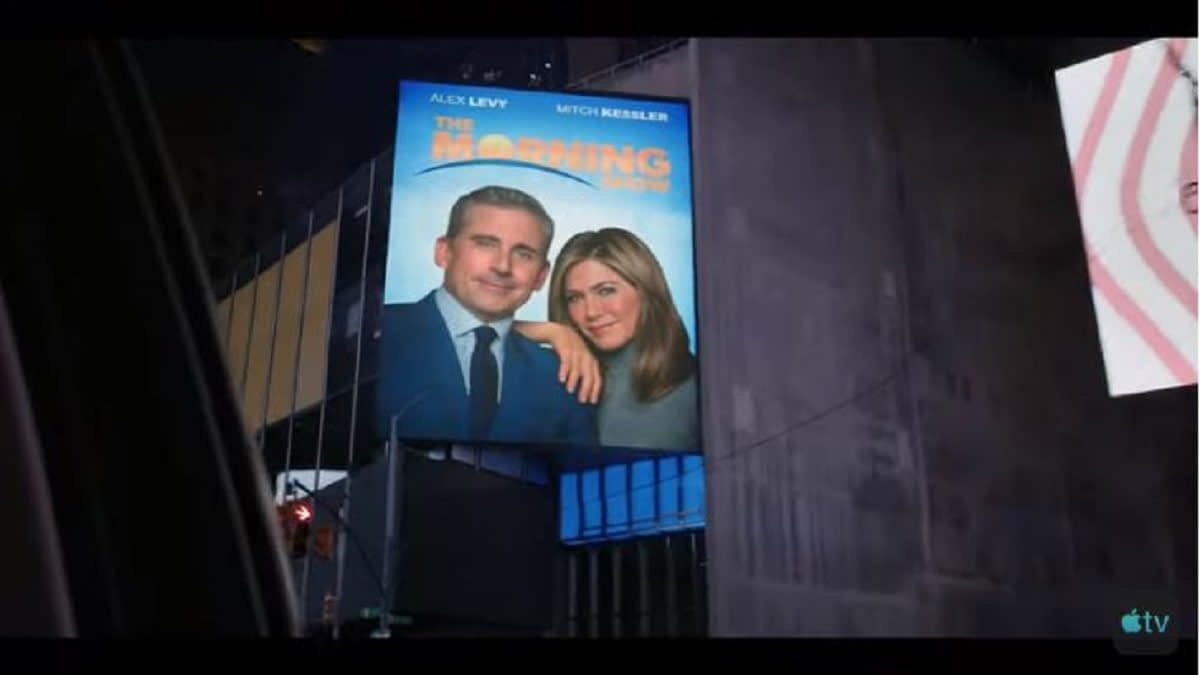 """The Morning Show"": Apple TV+ Releases Official Trailer for Jennifer Aniston/Reese Witherspoon/Steve Carell Series [VIDEO]"