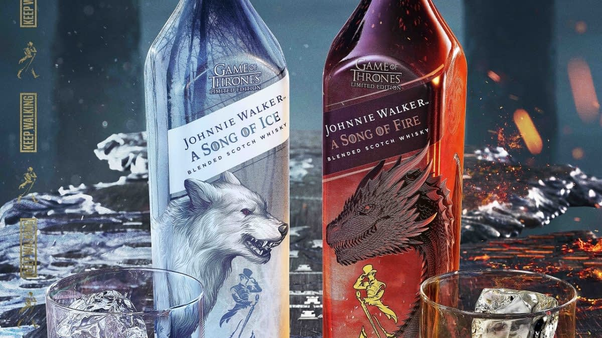 "At Least ""Game of Thrones"" Fans Won't Have to Wait for Next Bottle of HBO, Johnnie Walker's New Scotch Whiskies [VIDEO]"