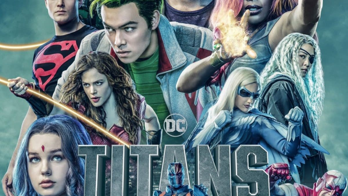 """Titans"" Season 2 Gets Official Poster, Banner - And No, Deathstroke Does NOT Have a Unicorn Horn [IMAGES]"