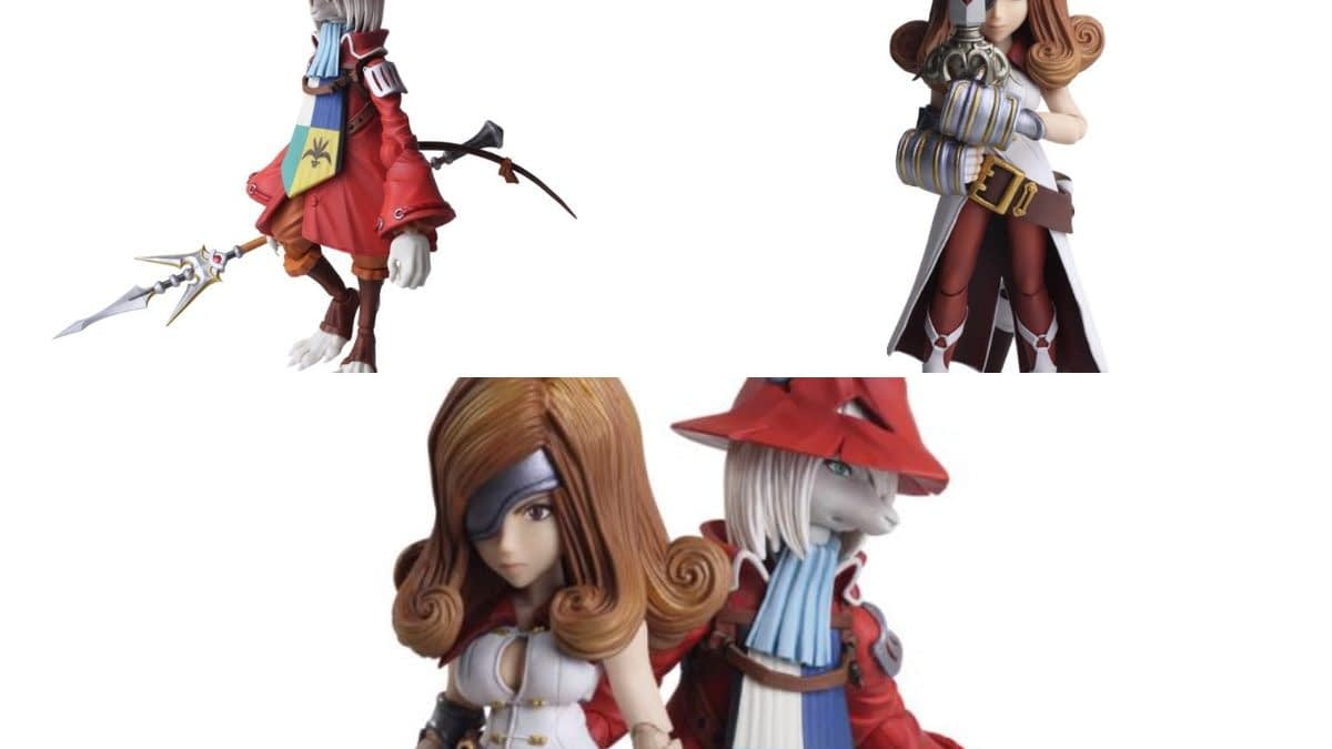 """Final Fantasy IX's"" Freya and Beatrix Join Figure Line by Square Enix"
