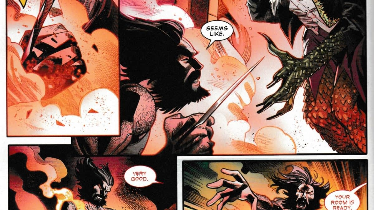 Wolverine Goes Full John Constantine in Today's Marvel Comics Presents #8 (Spoilers)
