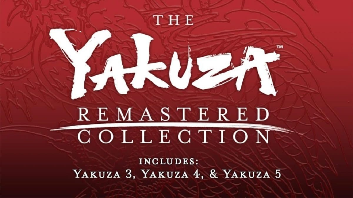 "SEGA Announces ""The Yakuza Remastered Collection"""