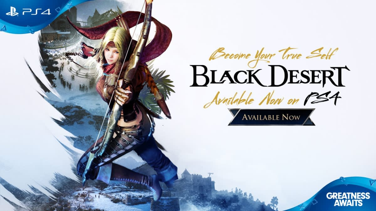 """Black Desert"" Launches On PS4 With Megan Fox In A New Trailer"